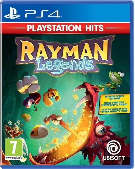 Jogo Rayman Legends Playstation 4 Novo