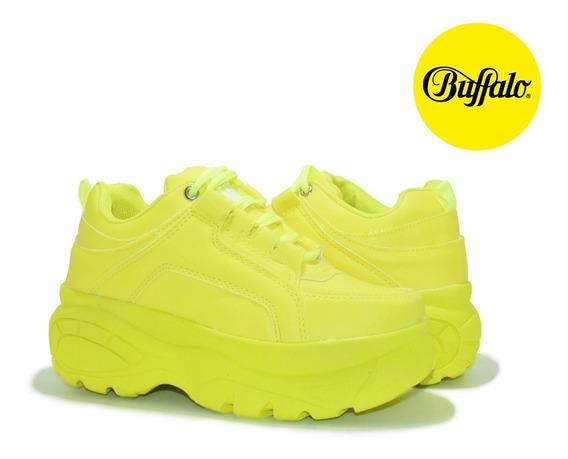 Tênis Feminino Buffalo Sneakers Flatforms Chunky Blogueira
