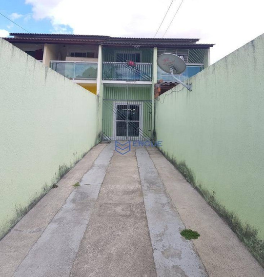 Casa Com 2 Dormitórios À Venda E Locação Com 80 M² - Parque Presidente Vargas - Fortaleza/ce - Ca0868