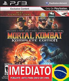 Mortal Kombat 9 Komplete Mk9 Pt Br Ps3 Psn - Midia Digital