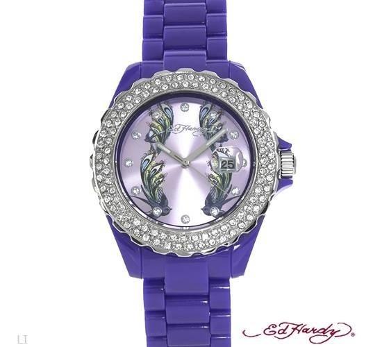 Reloj Ed Hardy Original De Dama 02246549