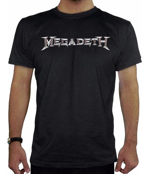 Remeras Hombre Estampadas Megadeth Inkpronta