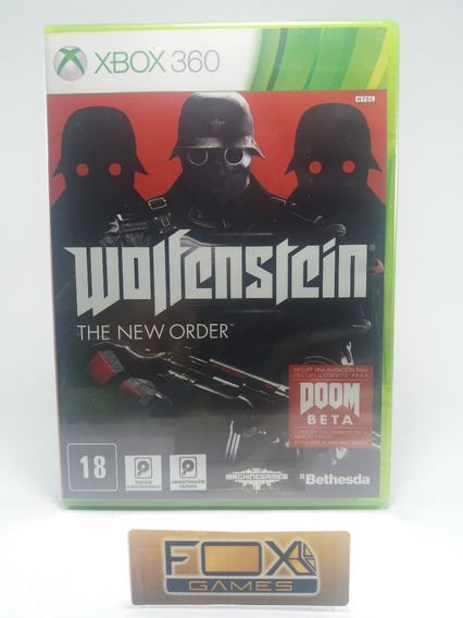 Xbox Jogo Wolfenstein-the New Order