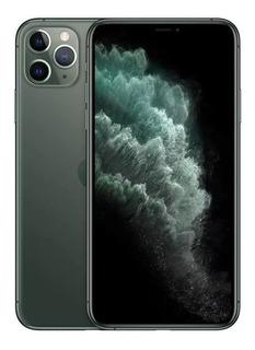 Apple iPhone 11 Pro Max Dual Sim 256 Gb Verde-meia-noite 4 G