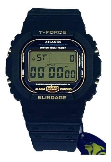 Relógio Esportivo Digital Atlantis T-fource 7305g