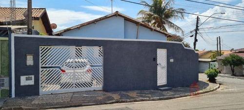 Casa Com 3 Dormitórios À Venda, 120 M² Por R$ 375.000,00 - Vila Monte Alegre Ii - Paulínia/sp - Ca0766