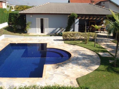 Imagem 1 de 22 de Casa Com 4 Dormitórios À Venda, 320 M² Por R$ 1.600.000,00 - Condomínio Campos De Santo Antônio - Itu/sp - Ca0148