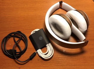 Beats Solo3 Wireless Gold Impecable Como Nuevo