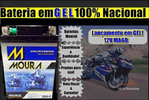 Bateria Moura Em Gel Xtz 250 Lander 2010 Ma6d Ytx 7lbs