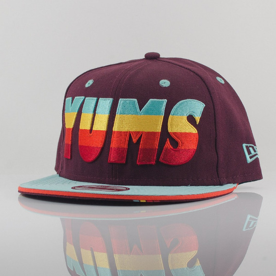 Gorra New Era 9 Fifty Yums Good Times Maroon No. 11131821