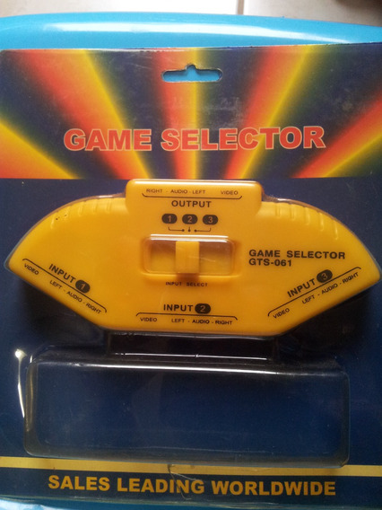Game Selector Video Game - Gts-061 - Acompanha 1 Cabo