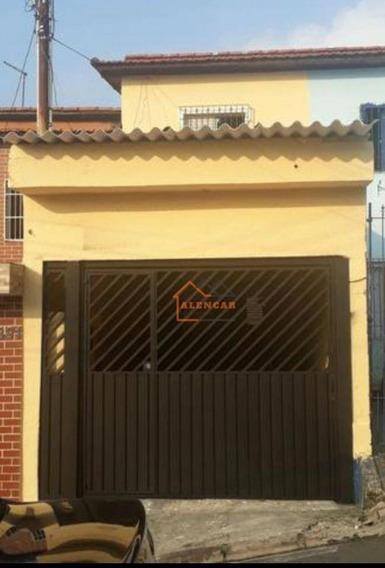 Sobrado Com 3 Dormitórios À Venda Por R$ 275.000,00 - Vila Carmosina - São Paulo/sp - So0131