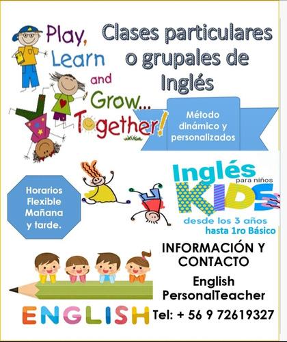 Imagen 1 de 1 de Clases A Domicilio De Inglés
