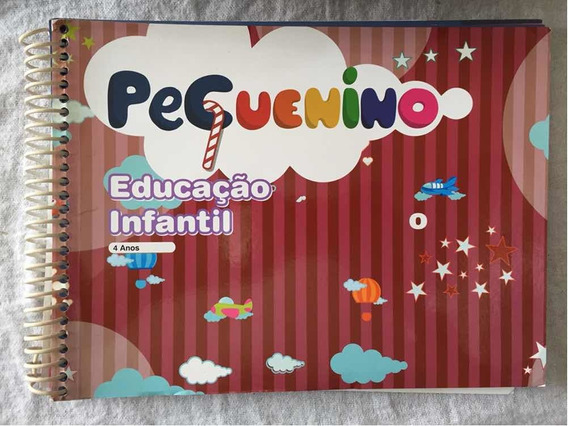 Livro Pequenino Educação Infantil - 4 Anos 1° Semestre