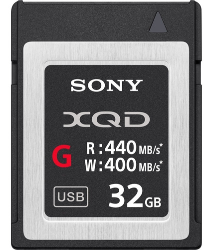 Cartão Xqd Sony Série G 32gb - 440mb/s