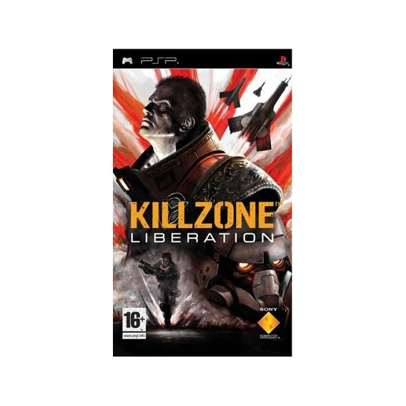 Killzone Liberation Favorites Psp Mídia Física Novo Lacrado