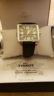 Reloj Tissot Cuadrato Zafiro Sumergible Original