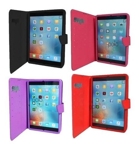 Imagen 1 de 6 de Funda Tablet 8 Pulgadas Estuche Con Tarjetero Universal