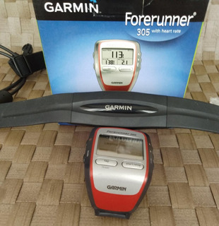 Garmin Forerunner 305 Completo Com Cinta Heart Rate