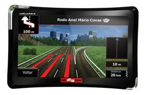 Gps Automotivo 4 Rodas 7 Polegadas Alerta Radar Tv Digital