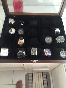 Kit De Relógios Só De Grife E Com Caixa De Colecionador
