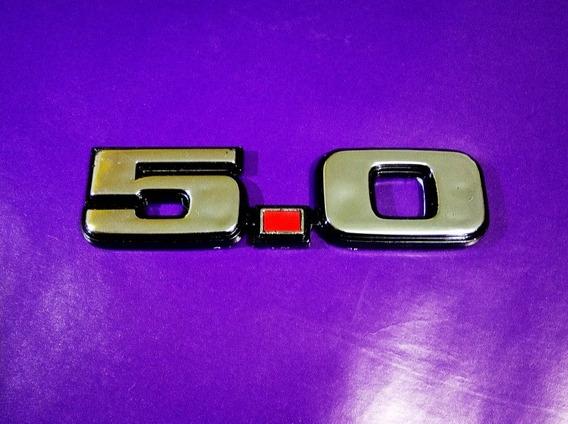 Emblema 5.0 Mustang Clasico Años 80