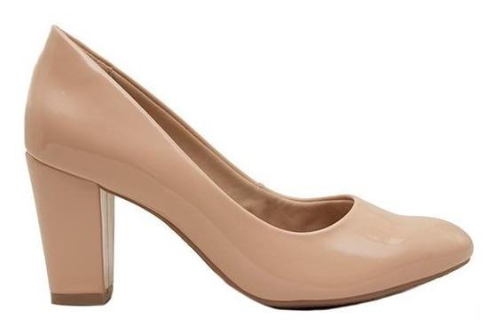 Zapatos Clásicos Mujer Charol Nude Ramarim