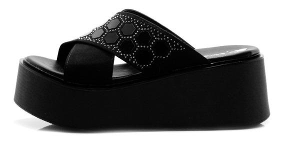 Zapato Ojota Zueco Mujer Con Plataforma Savage Nueva Verano
