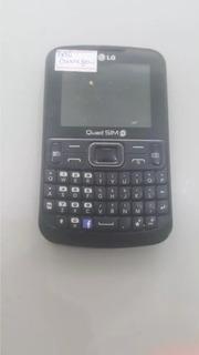 Celular Lg C 299 Funcionando So Não Carrega Os 5948