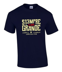 Camiseta Estampada América Campeón Conmemorativa