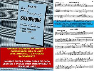 Partitura, Ejercicios Y Pistas De Jazz Para Saxofon