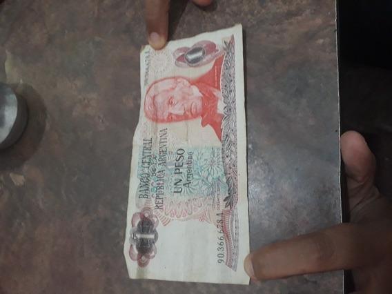 Billete De 1 Peso Argentino