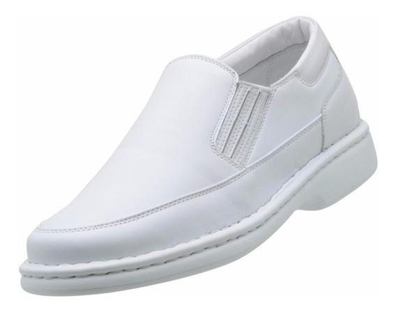 Sapato Social Masculino Asa Relax Conforto Linha Branca 1709