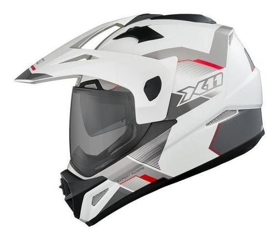 Capacete Moto Xre Lander Tenere Crosser Bros Tornado Ktm