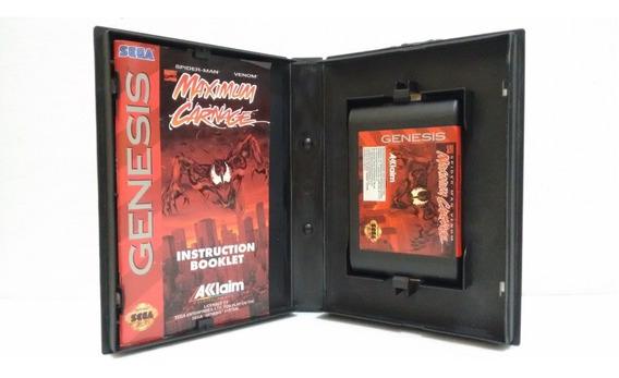 Spider Man Maximum Carnage Mega Drive Genesis Completo