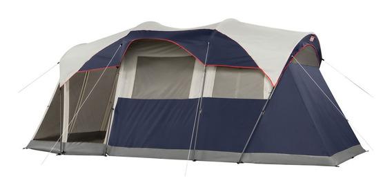 Carpa Coleman 6 Personas Con Luz Camping Elite Weathermaster