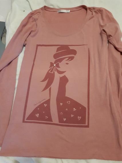 Camiseta Remera Manga Larga Levis Muaa Como Quieres