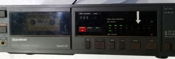 Gradiente Tape Deck Spect 65 Funcionando