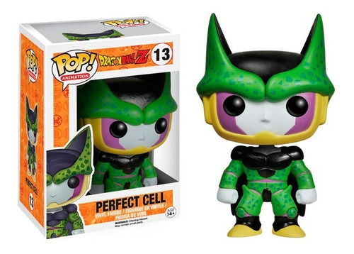 Funko Pop Figura Dr Ball Z Cell Int W3992 Original Wabro