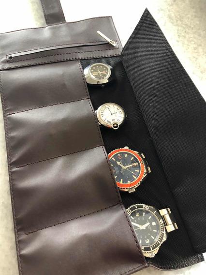 Estuche Organizador Caja Para Relojes Rolex Cartier Audemars