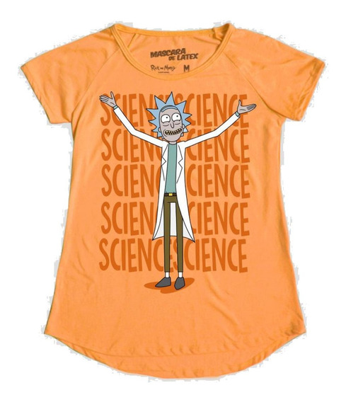 Focus On Science Mujer Rick And Morty Máscara De Látex