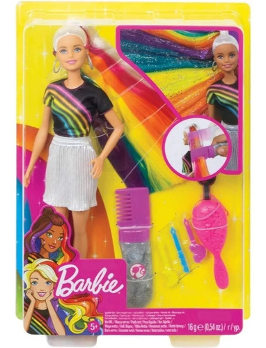 Imagen 1 de 7 de Barbie - Peinados Arcoíris