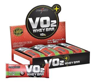 Barra De Proteína Vo2 Slim Whey Bar - 12un - Integralmédica