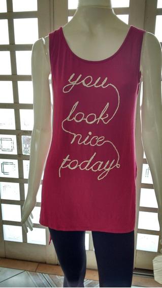 Regata Camiseta Marsala Vinho Adress M