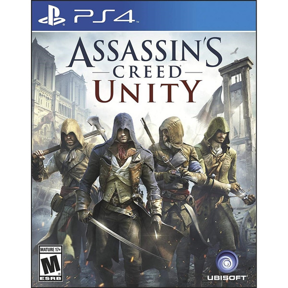 Assassins Creed Unity - Ps4 Lacrado