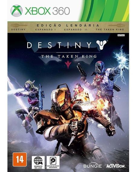 Jogo Destiny The Taken King(edição Lendária)xbox 360 Lacrado