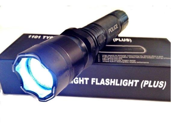 Picana Electrica Linterna Police Defensa Personal Fuerte