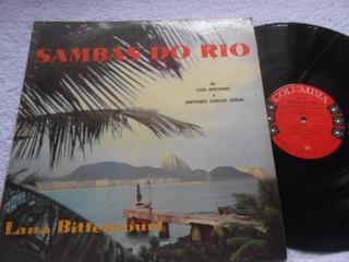 Vinil Lana Bittencourt Sambas No Rio Luiz Antonio Tom Jobim