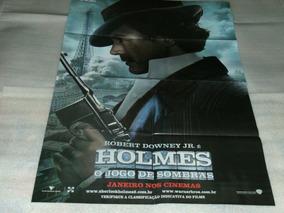 Poster Duplo Do Filme: Sherlock Holmes - O Jogo De Sombras