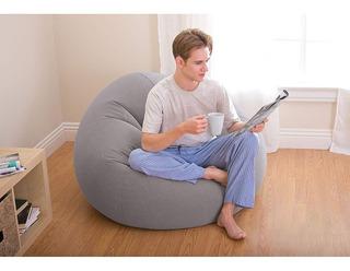 Intex Bag Inflable Sillon Futon Silla Premium Puff Sofa